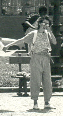 Rose Maria, jornalista, 1984.