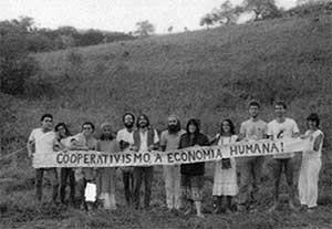 Cooperativismo no VIII Enca - São Lourenço, 1984.